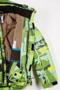 Оптом Куртка горнолыжная подростковая для девочки салатового цвета 1774Sl, фото 4