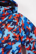 Оптом Куртка горнолыжная подростковая для девочки красного цвета 1774Kr в Нижнем Новгороде, фото 7