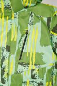 Оптом Куртка горнолыжная подростковая для девочки салатового цвета 1774Sl, фото 5