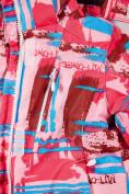 Оптом Куртка горнолыжная подростковая для девочки розового цвета 1774R, фото 5