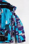 Оптом Костюм горнолыжный для девочки голубого цвета 01773Gl в Нижнем Новгороде, фото 5