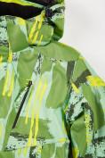 Оптом Куртка горнолыжная подростковая для девочки салатового цвета 1774Sl, фото 7