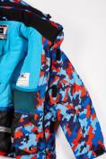 Оптом Куртка горнолыжная подростковая для девочки красного цвета 1774Kr в Нижнем Новгороде, фото 4