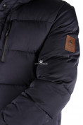 Оптом Куртка зимняя удлиненная мужская темно-синего цвета 1780TS в  Красноярске, фото 5