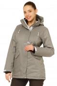 Оптом Куртка горнолыжная женская большого размера серого цвета 1783Sr в Екатеринбурге, фото 2
