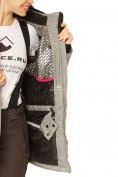 Оптом Куртка горнолыжная женская большого размера серого цвета 1783Sr в Екатеринбурге, фото 6