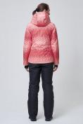 Оптом Куртка горнолыжная женская персикового цвета 1786P, фото 2