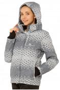Оптом Куртка горнолыжная женская серого цвета 1786Sr, фото 4