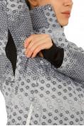 Оптом Куртка горнолыжная женская серого цвета 1786Sr, фото 5