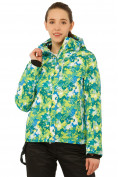Оптом Костюм горнолыжный женский зеленого цвета 01787Z, фото 2