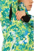 Оптом Костюм горнолыжный женский зеленого цвета 01787Z, фото 12