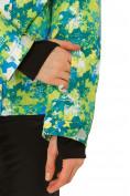 Оптом Костюм горнолыжный женский зеленого цвета 01787Z, фото 6