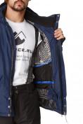 Оптом Костюм горнолыжный мужской темно-синего цвета 01788TS в Казани, фото 6