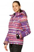 Оптом Костюм горнолыжный женский фиолетового цвета 01795F, фото 3