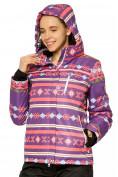 Оптом Костюм горнолыжный женский фиолетового цвета 01795F в Казани, фото 5