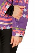 Оптом Костюм горнолыжный женский фиолетового цвета 01795F, фото 7