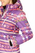Оптом Костюм горнолыжный женский фиолетового цвета 01795F, фото 8