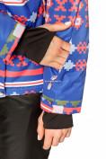 Оптом Костюм горнолыжный женский синего цвета 01795S в Казани, фото 8