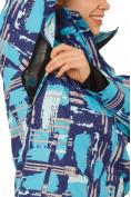 Оптом Костюм горнолыжный женский фиолетового цвета 01801F в Екатеринбурге, фото 6