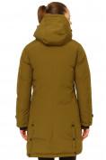 Оптом Куртка парка зимняя женская цвета хаки 1802Kh, фото 4