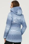 Оптом Костюм горнолыжный женский синего цвета 01803S, фото 4
