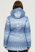Оптом Костюм горнолыжный женский синего цвета 01803S, фото 5