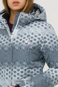 Оптом Куртка горнолыжная женская серого цвета 1803Sr в  Красноярске, фото 6