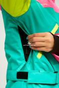 Оптом Женский зимний комбинезон зеленого цвета 18066Z в Нижнем Новгороде, фото 15