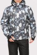 Оптом Куртка горнолыжная мужская серого цвета 18108Sr в  Красноярске