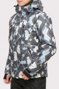 Оптом Куртка горнолыжная мужская серого цвета 18108Sr в  Красноярске, фото 2