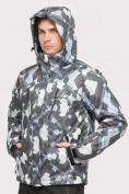 Оптом Куртка горнолыжная мужская серого цвета 18108Sr в  Красноярске, фото 3