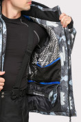 Оптом Куртка горнолыжная мужская серого цвета 18108Sr в  Красноярске, фото 6