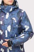 Оптом Куртка горнолыжная мужская темно-синего цвета 18108TS в  Красноярске, фото 5