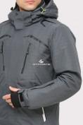 Оптом Костюм горнолыжный мужской серого цвета 018109Sr в Казани, фото 6