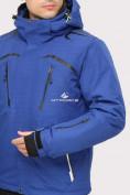 Оптом Костюм горнолыжный мужской синего цвета 018109S в  Красноярске, фото 6