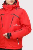 Оптом Куртка горнолыжная мужская красного цвета 18109Kr в Екатеринбурге, фото 5