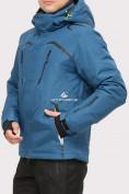 Оптом Куртка горнолыжная мужская голубого цвета 18109Gl в Екатеринбурге, фото 2