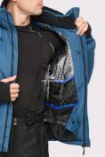 Оптом Куртка горнолыжная мужская голубого цвета 18109Gl в Екатеринбурге, фото 6