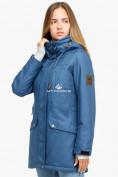 Оптом Куртка парка зимняя женская голубого цвета 18113Gl в Екатеринбурге, фото 2