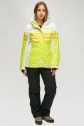 Оптом Женский зимний горнолыжный костюм салатового цвета 01856Sl в Нижнем Новгороде