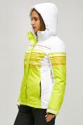 Оптом Женский зимний горнолыжный костюм салатового цвета 01856Sl в Казани, фото 4