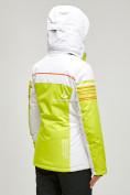 Оптом Женский зимний горнолыжный костюм салатового цвета 01856Sl в Нижнем Новгороде, фото 5