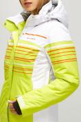 Оптом Женский зимний горнолыжный костюм салатового цвета 01856Sl в Казани, фото 6