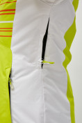 Оптом Женский зимний горнолыжный костюм салатового цвета 01856Sl в Казани, фото 7
