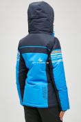 Оптом Женский зимний горнолыжный костюм синего цвета 01856S в  Красноярске, фото 5