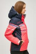 Оптом Женский зимний горнолыжный костюм розового цвета 01856R в Нижнем Новгороде, фото 3