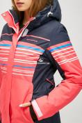 Оптом Женский зимний горнолыжный костюм розового цвета 01856R в Нижнем Новгороде, фото 5