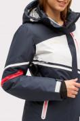 Оптом Костюм горнолыжный женский темно-синего цвета 01811TS в Нижнем Новгороде, фото 11