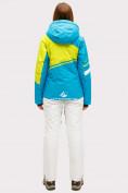 Оптом Костюм горнолыжный женский синего цвета 01811S, фото 3
