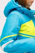 Оптом Костюм горнолыжный женский синего цвета 01811S, фото 11